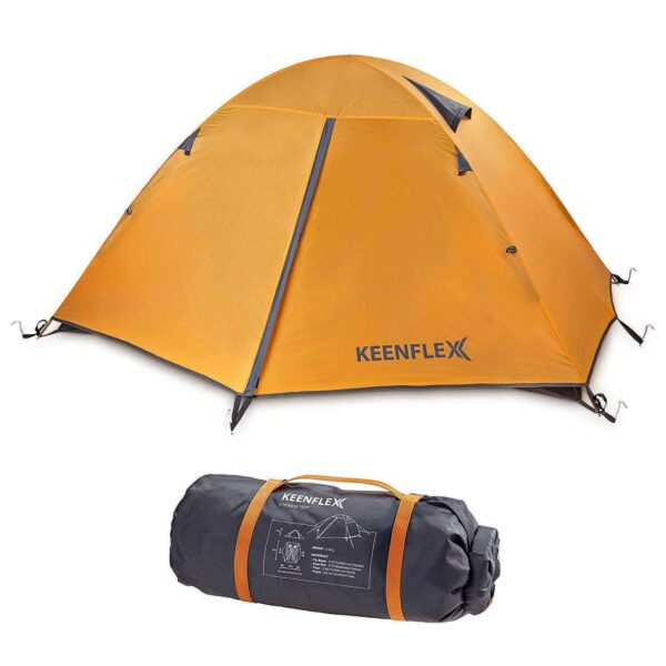 2 MAN CAMPING TENT DOUBLE LAYER ULTRA LIGHT