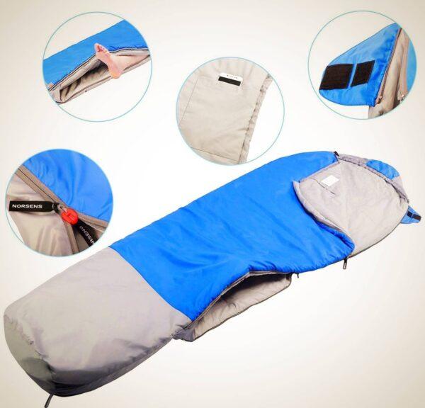 3 Season Lightweight Mummy Sleeping Bag