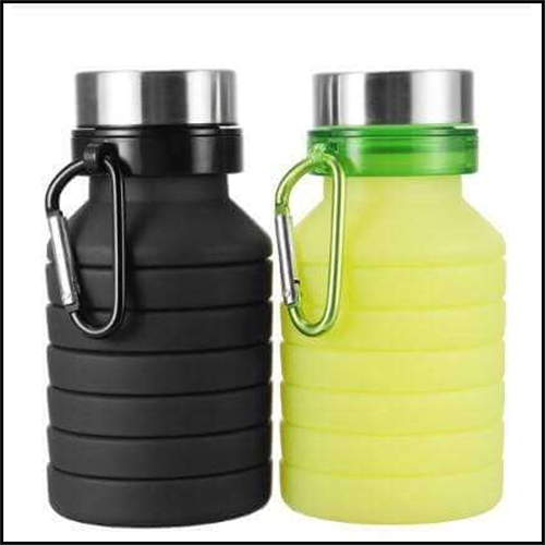 550ML-SILICONE-RETRACTABLE-FOLDING-COFFEE-TELESCOPIC-COLLAPSIBLE-FOLDABLE-WATER-BOTTLE-WITH-CARABINER