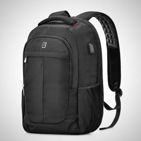 ANTI THEFT 15.6 INCH CASUAL RUCKSACK WITH USB CHARGING PORT