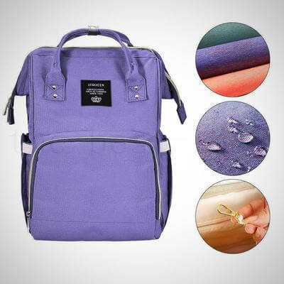 BEST BABY DIAPER BAG BACKPACK WITH USB CHARGING PORT