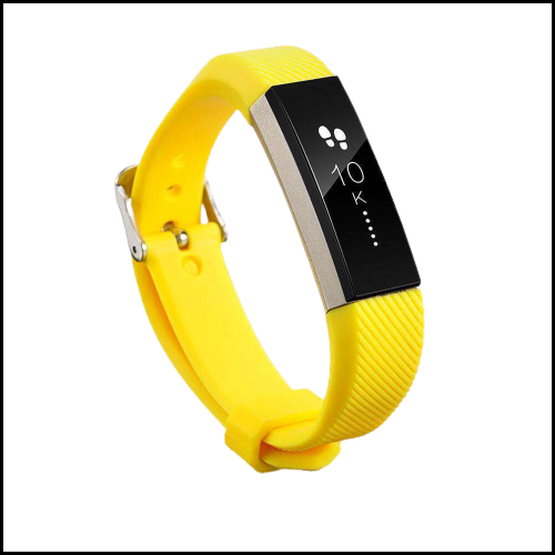 Yellow FITBIT ALTA SILICONE REPLACEMENT WRISTBAND STRAP