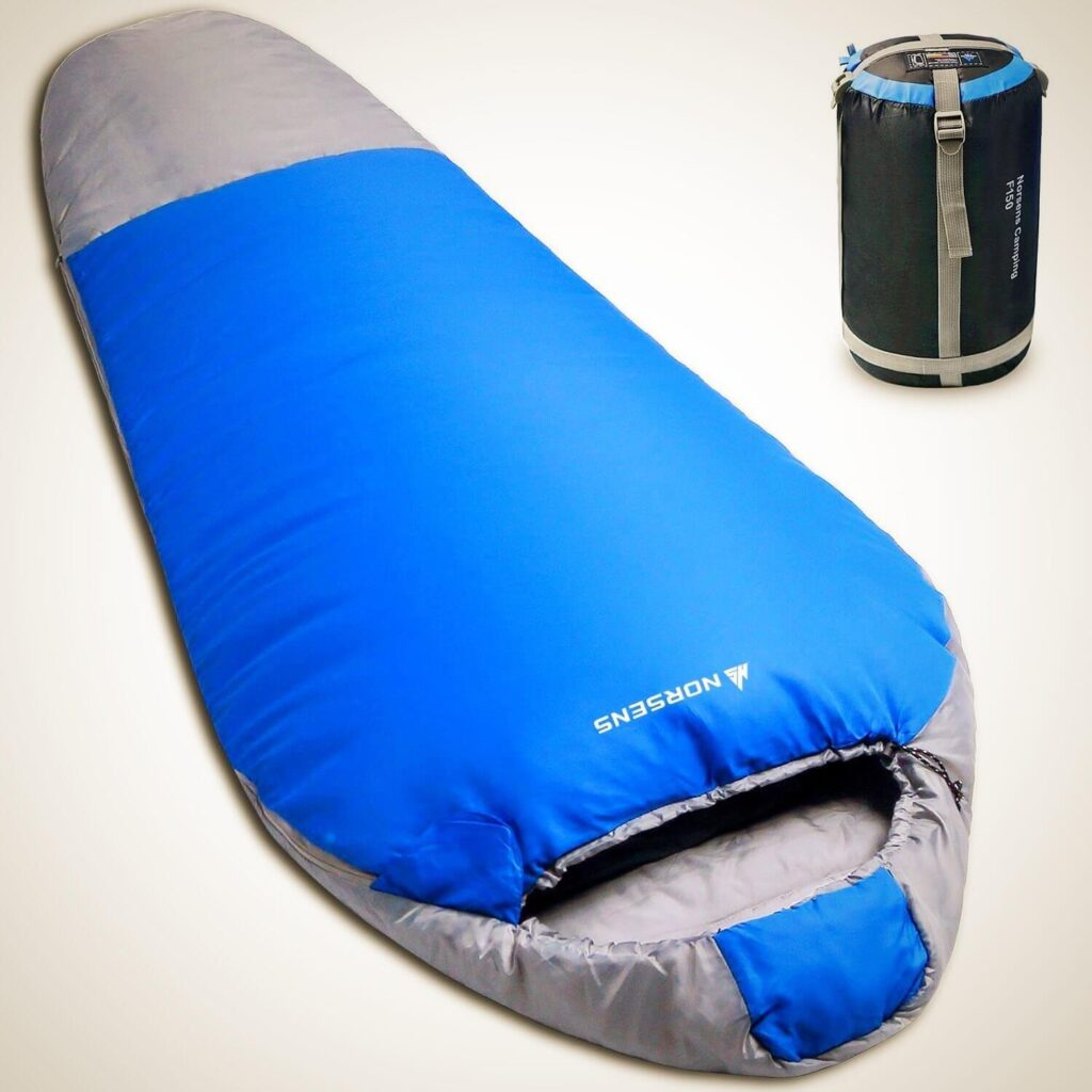 BEST LIGHTWEIGHT MUMMY SLEEPING BAG FOR CAMPING (3 SEASON)