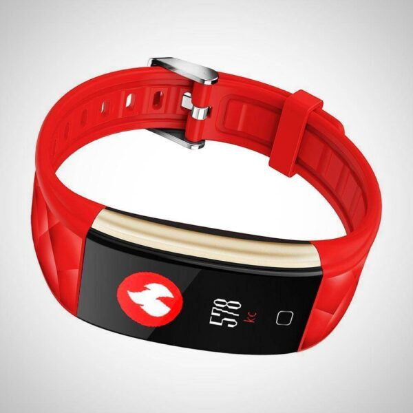 BLOOD PRESSURE HEART RATE OXYGEN MONITOR FITNESS SMART WATCH