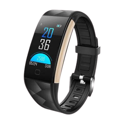 BLOOD PRESSURE HEART RATE OXYGEN MONITOR FITNESS SMART WATCH BAND