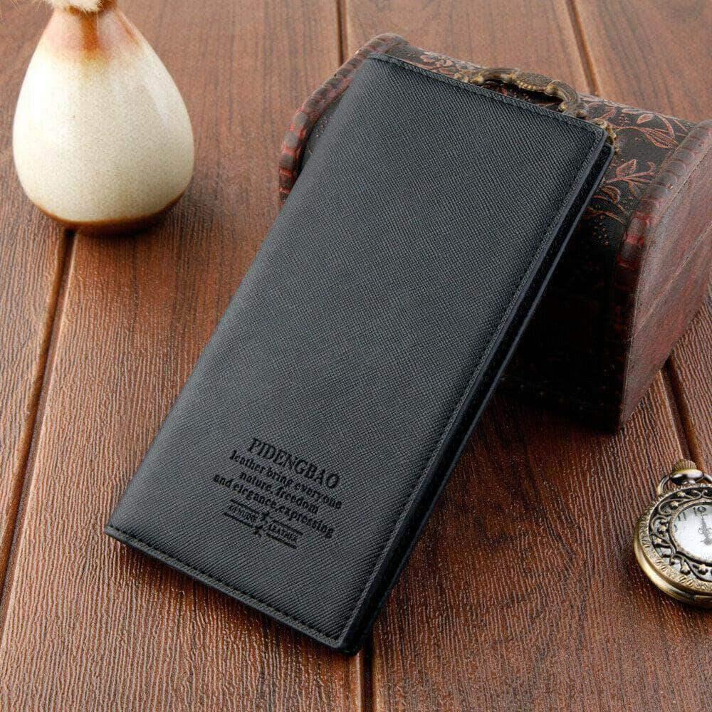 Black Bifold Wallet Card Holder