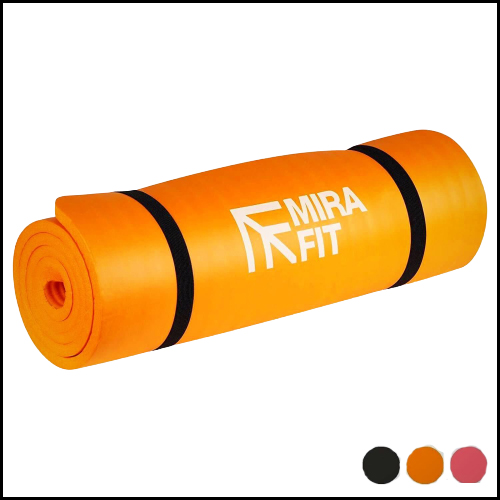 Black-Extra-Thick-Padded-Exercise-Mat