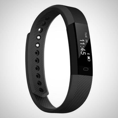 Black SMARTWATCH FITNESS TRACKER