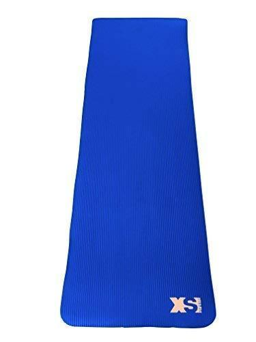 Blue Premium 15MM Thick NBR Yoga Exercise Mat
