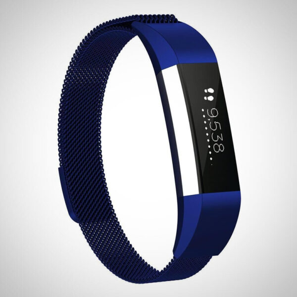Dark Blue FITBIT ACE KIDS SS STEEL MILANESE BAND STRAP