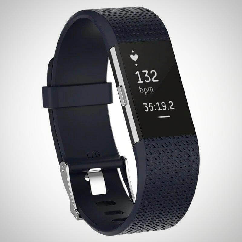 Dark Blue FITBIT CHARGE 2 REPLACEMENT STRAP SPORTS SOFT BRACELET WATCH WRISTBAND