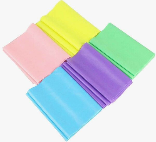 ELASTIC YOGA PILATES RUBBER STRETCH RESISTANCE BAND