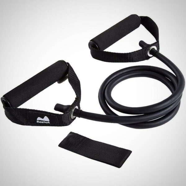 EXERCISE WITH RESISTANCE BAND LEG WORKOUT SINGLE RESISTANCE BAND EXERCISE TUBE