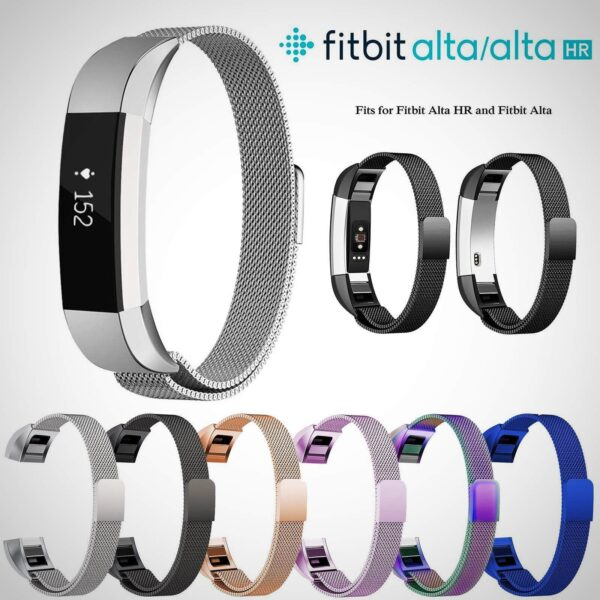 FITBIT ALTA HR STAINLESS STEEL WATCH BAND STRAP 2020