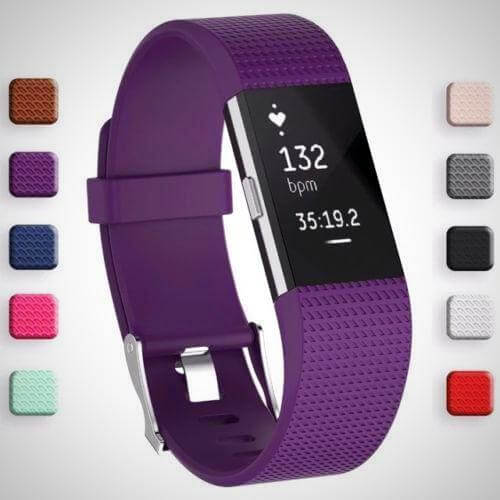 FITBIT CHARGE 2 REPLACEMENT STRAP SPORTS SOFT BRACELET