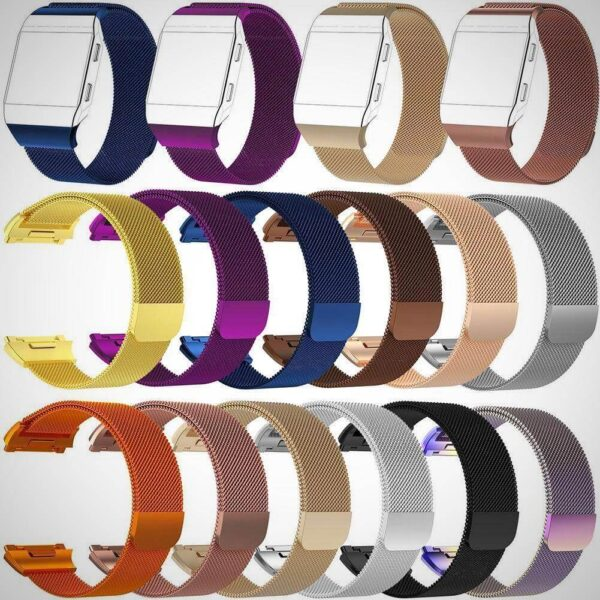 FITBIT IONIC STAINLESS STEEL METAL BAND STRAP REPLACEMENT BRACELET