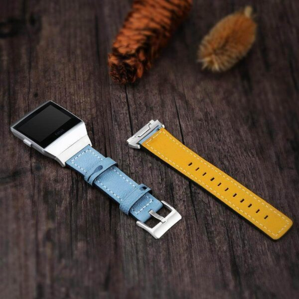 FITBIT IONIC WATCH BAND STRAP GENUINE LEATHER BRACELET REPLACEMENT BRACELET