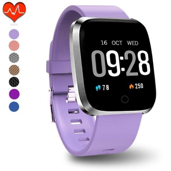 FITNESS TRACKERACTIVITY TRACKER WITH HEART RATE MONITOR AND SLEEP MONITOR