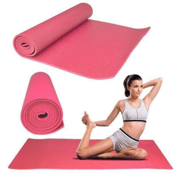 GYM YOGA MATS PVC EXCERICE FITENESS SOFT NON SLIP 3MM 5MM 8MM THICK