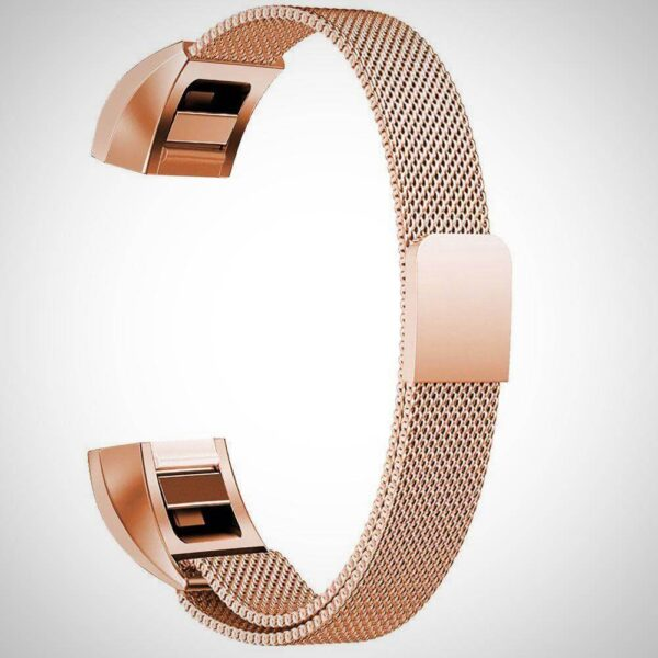 Gold Milanese Loop Stainless Steel Apple Watch Band