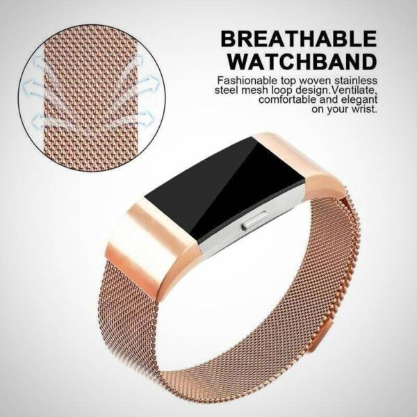 Golden Fitbit charger 2 Activity Tracker Watch