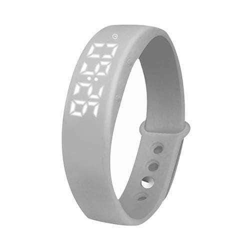 Grey smart 3d pedometer watch