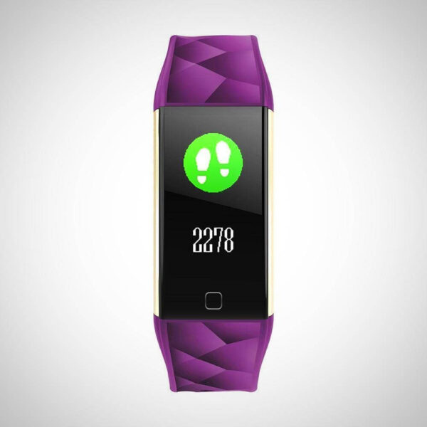 HEART RATE And OXYGEN MONITOR FITNESS SMART WATCH Band