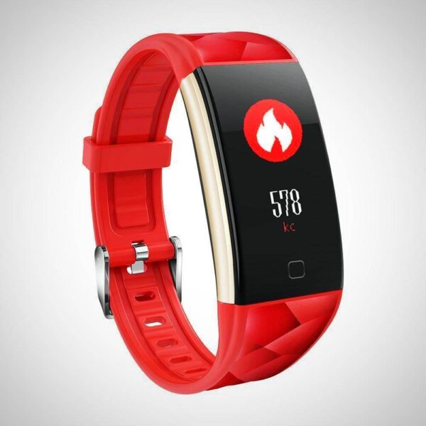 HEART RATE OXYGEN MONITOR FITNESS SMART WATCH BAND