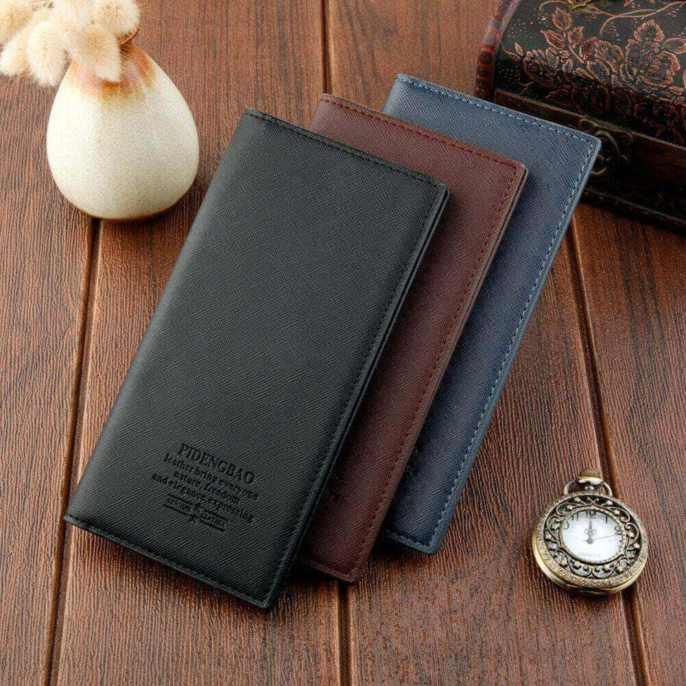 LEATHER BIFOLD WALLET CREDIT CARD HOLDER FOR MEN (POCKET CARD HOLDER)