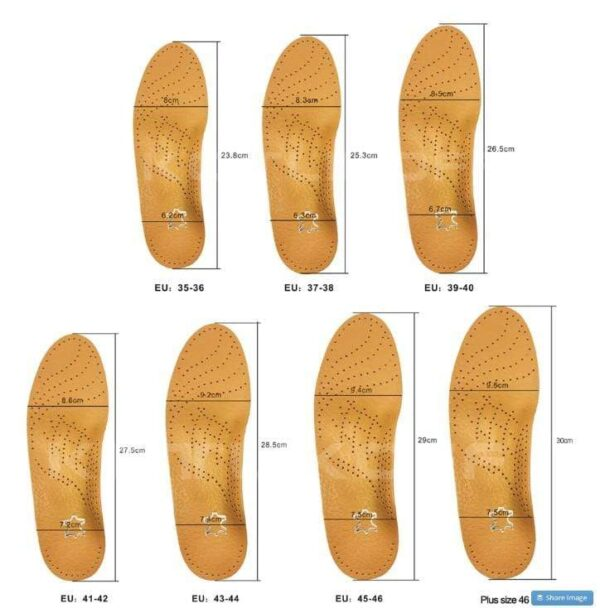Leather Insoles for men and women 2020