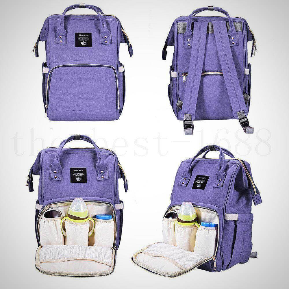 Lequeen Diaper Bag with USB Charger port.