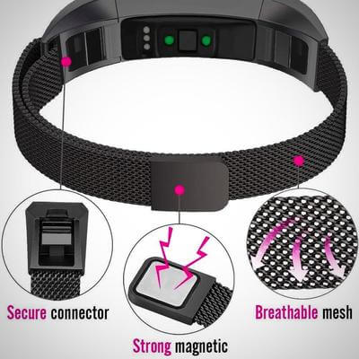 MAGNETIC MILANESE STAINLESS STEEL WATCH Band
