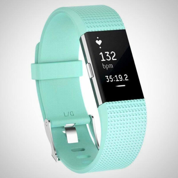 Mint Green FITBIT CHARGE 2 REPLACEMENT STRAP SPORTS SOFT BRACELET WATCH WRISTBAND