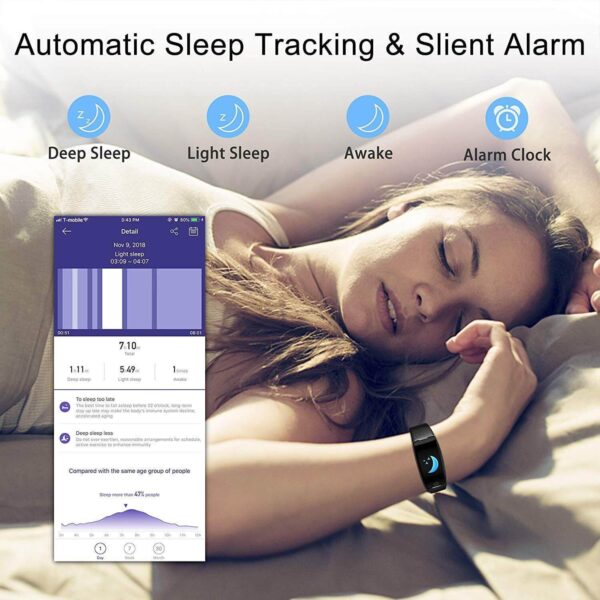 New FITNESS TRACKER ACTIVITY TRACKER WATCH With Sleep Monitor