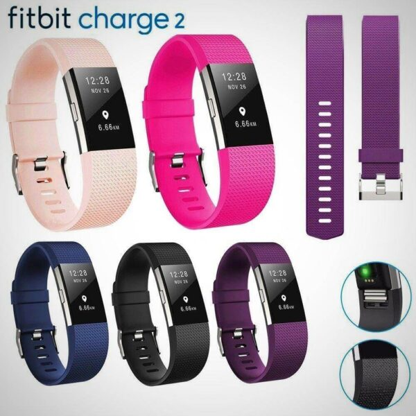 New Fitbit Charge 2 Replacement Strap Wristband