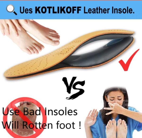New Leather Insoles for men and women