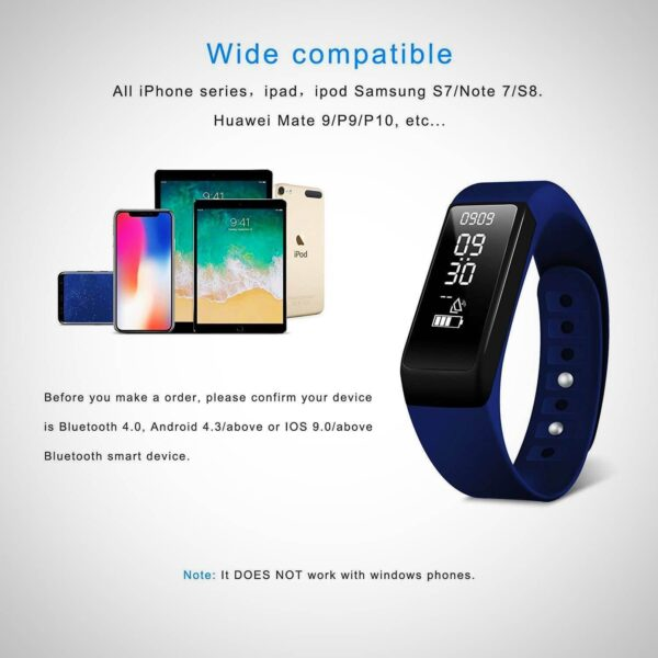 New SMART BRACELET ACTIVITY TRACKER WATCH WITH SLEEP MONITOR 2020
