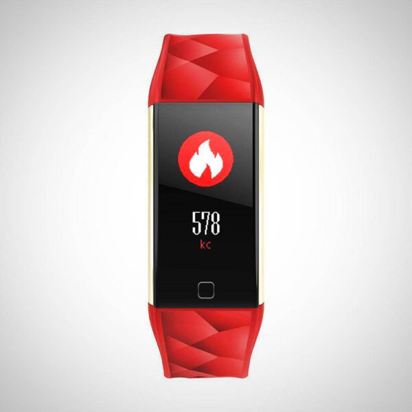 New Sport Blood Pressure Heart Rate Oxygen Monitor Smartwatch