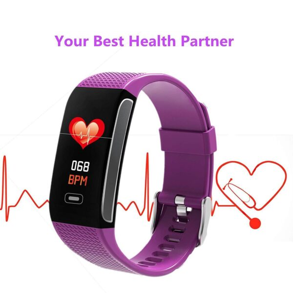 New fitness tracker with a blood pressure monitor 2020
