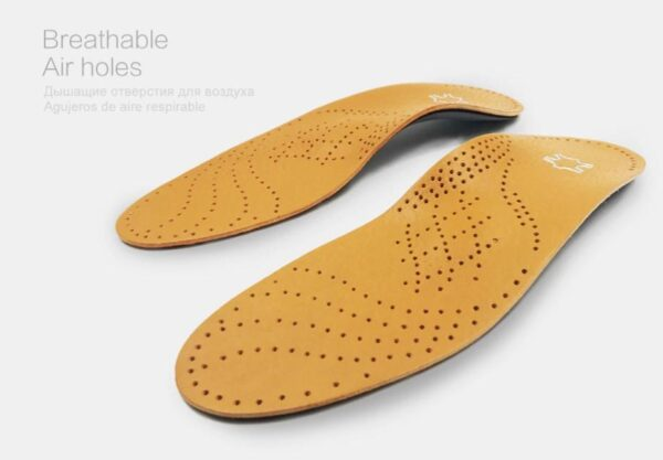 New high-quality leather orthotics insoles