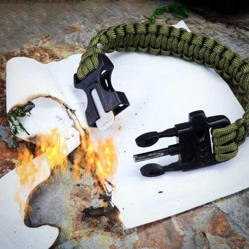 OUTDOOR MULTI FUNCTION BRACELET FOR CAMPING