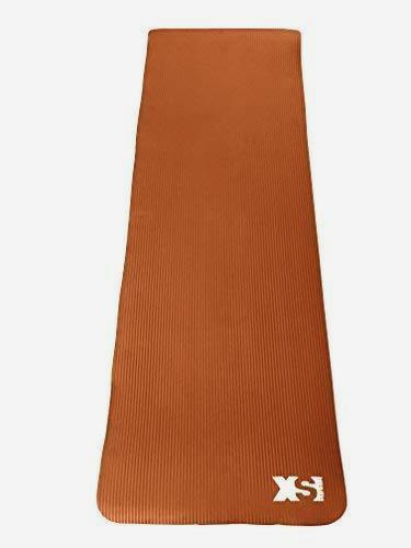 Orange Premium 15MM Thick NBR Yoga Exercise Mat