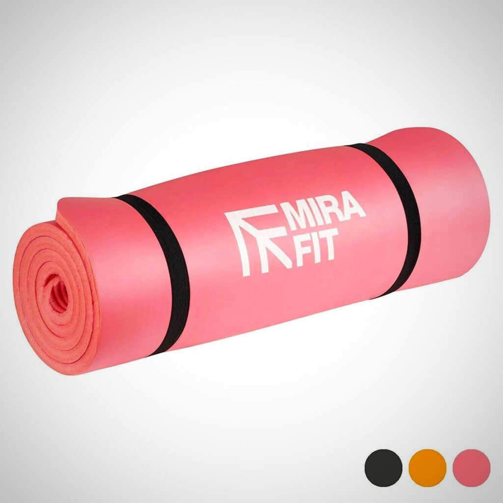 Pink EXTRA THICK EXERCISE FLOOR MAT