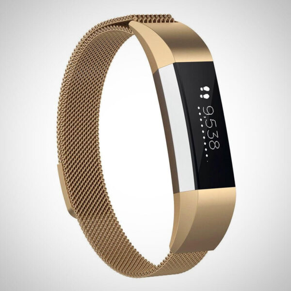 Rose Gold FITBIT ACE KIDS SS STEEL MILANESE BAND STRAP