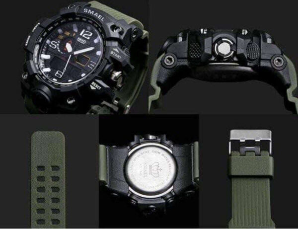 SMX Warrior Ultimate Shock Resistant Digital Analog Military Sport Watch 3 ba16505f 3a46 45df 8814