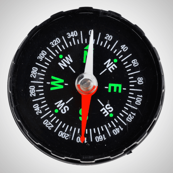 STYLISH FLUID FILLED POCKET COMPASS