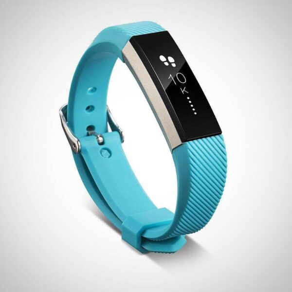 Sky Blue FITBIT ALTA SILICONE REPLACEMENT WRISTBAND STRAP