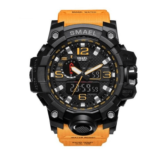 THE ADVENTURER TACTICAL OUTDOORS WATCH MULTI FUNCTION LED WATCH