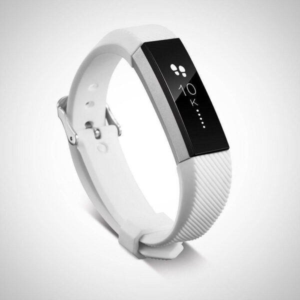 White Fitbit Alta Replacement Wristband