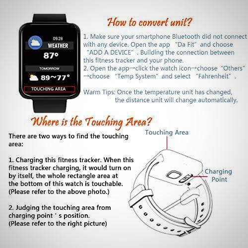 blood pressure monitor smartwatch fitness tracker 2020